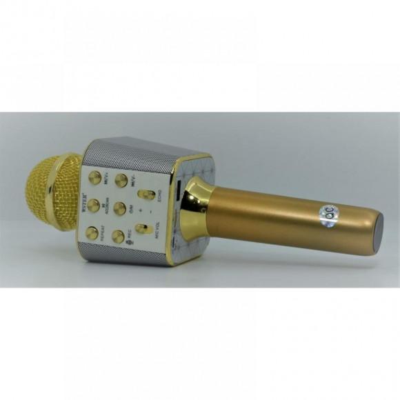 Микрофон караоке беспроводной  WS-1688 Gold в Киеве