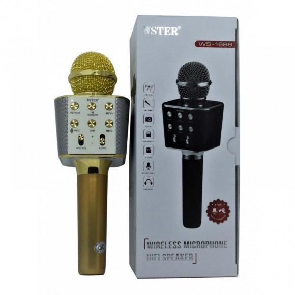 Микрофон караоке беспроводной  WS-1688 в {in_siti}