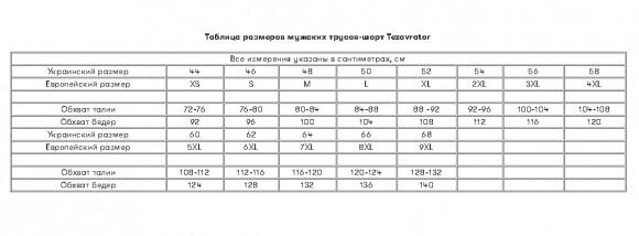 Трусы-шорты мужские Tezavrator МШ 950101 черные