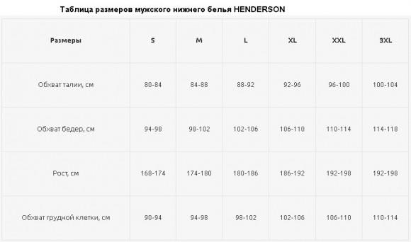 Боксеры Henderson трусы хлопковые 1449-K303-L