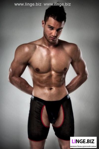 Стринги-шорты мужские эротические  латексные Passion 012 купить в Киеве в Киеве